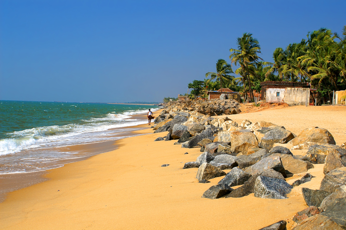 Ullal Beach is one of the most iconic sights of Mangalore.